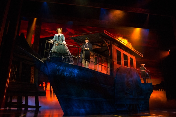 Laura Michelle Kelly, Baylen Thomas and Graham Montgomery in Rodgers & Hammerstein's The King and I. Photo by Matthew Murphy