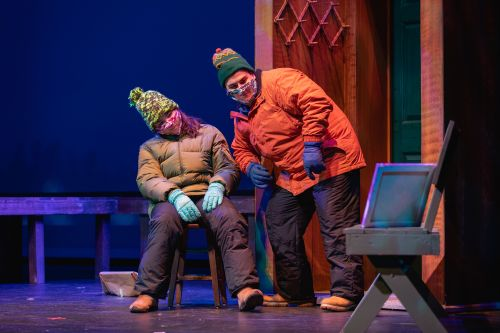 Almost Maine, Dress Rehearsal; Halton Theater, Overcash. November 3rd, 2020
